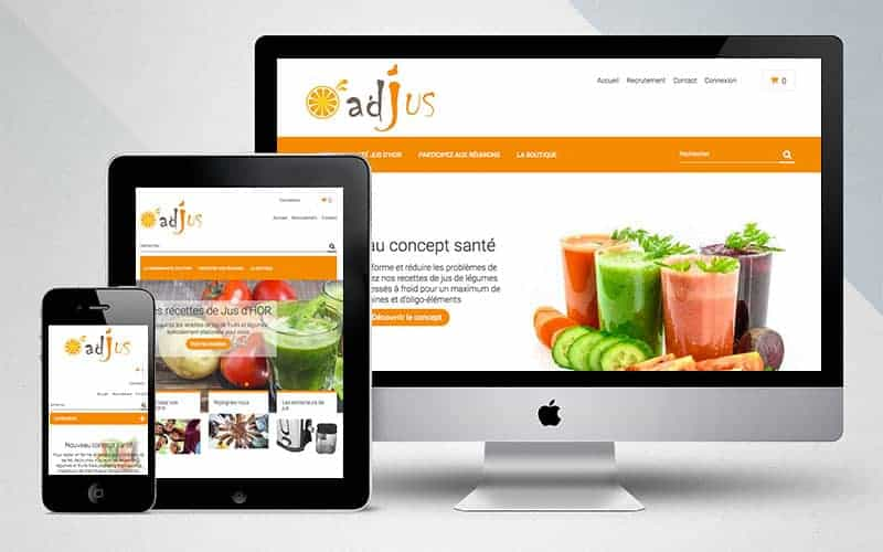 Conception site wordpress & prestashop